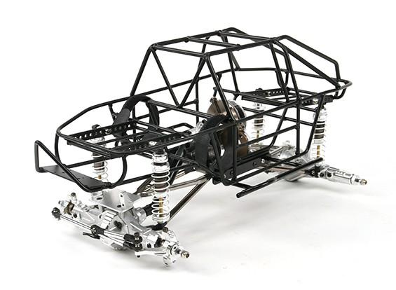 1/10 gabbia del rullo Tipo Trail Racer 4WD Crawler (Kit)