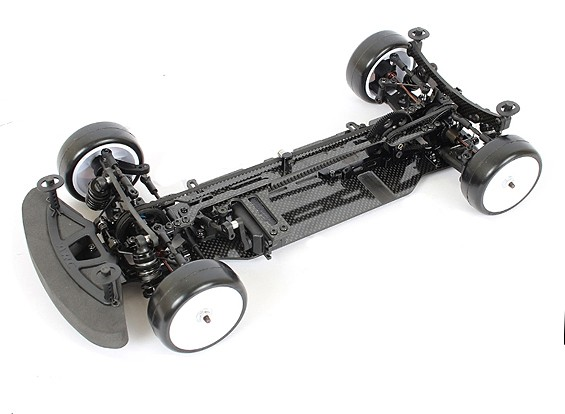 ARC R11 1/10 elettrico Touring Car Chassis (Un-assemblato Kit)