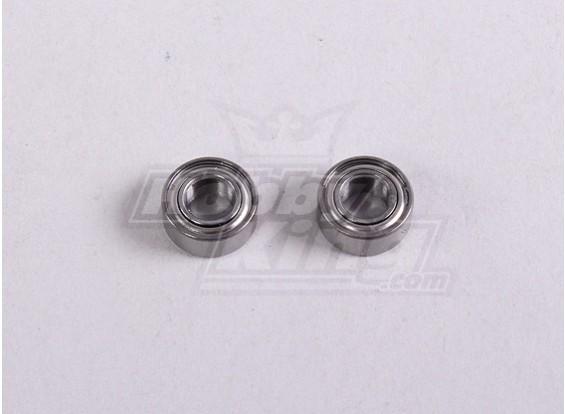 Ball Bearing 5 * 10 * 4mm (2Pc / Bag) - A2016T, A2030, A2031, A2031-S, A2032, A2033, A3002 e A3015