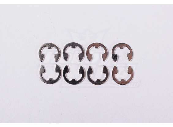 E-ring Dia5 (8pcs / bag) - A2016