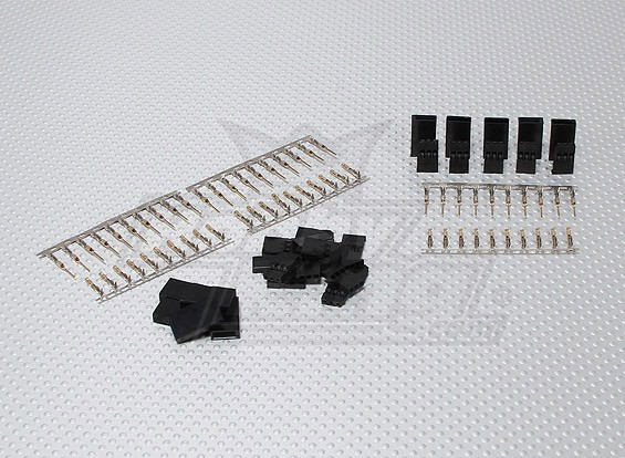 JST-SH Servo Plug Set (Futaba) placcato oro (10pairs / set)