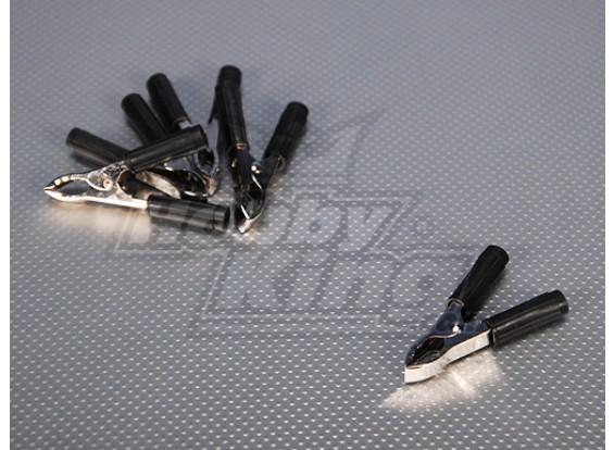 Batteria nero Clip (5pcs / bag)