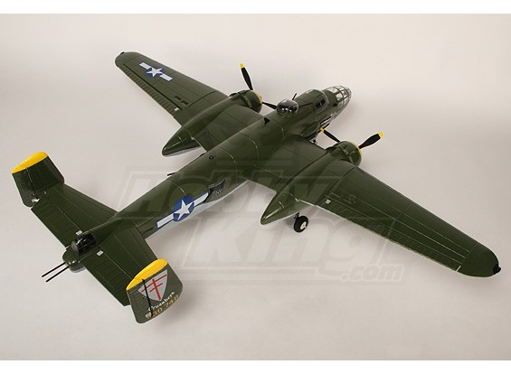 B-25 Mitchell Bomber w / Twin brushless & Retracts plug & play