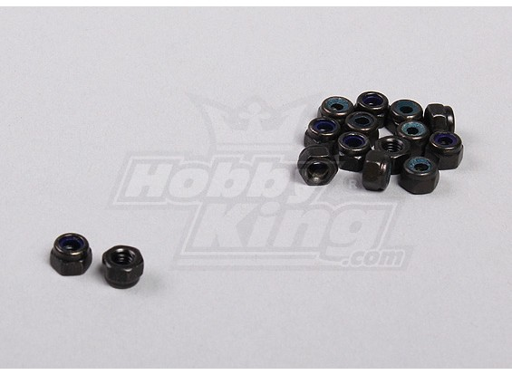 Hex Fastener Nuts M3 (15pcs / bag) - 1/5 4WD grande mostro