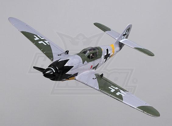 Bf109 Funfighter - EPO 658 millimetri (PNF)