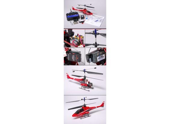 E-Flite BladeCX2 coassiale elicottero e 5CH 2.4GHz TX e RX (Modalità 2)