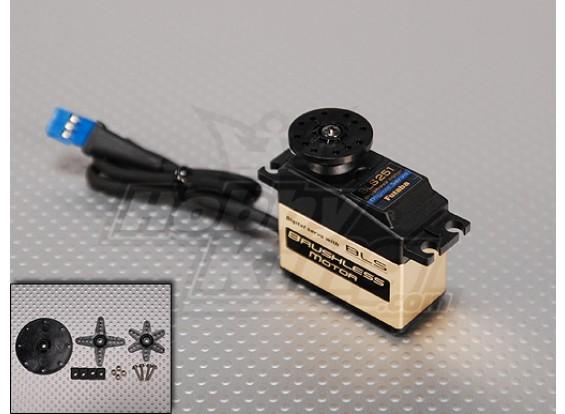 Futaba BLS251 Digital Brushless Heli del timone servo 3.8kg / .06sec / 61g