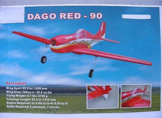 SCRATCH / DENT Dago red-90 (AUS Warehouse)