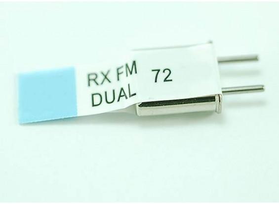 Doppia conversione Rx cristallo 72,490 (50U)