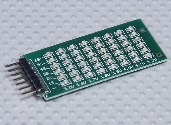 Indicatore LED 2-6S Balance tensione