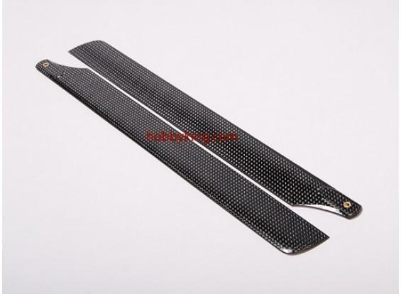 325 millimetri in fibra di carbonio Lame principale
