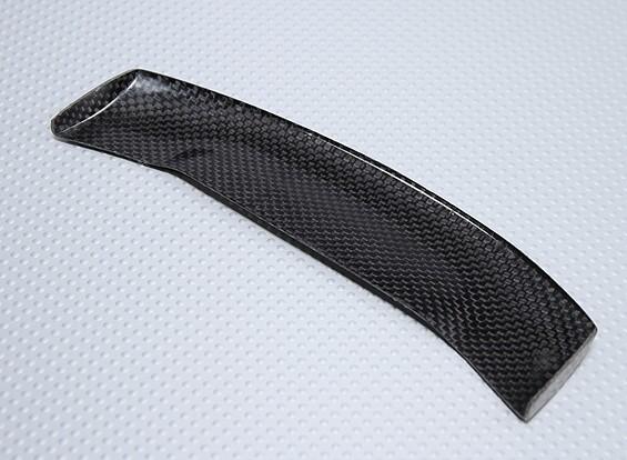 1/10 fibra di carbonio ala (nero)