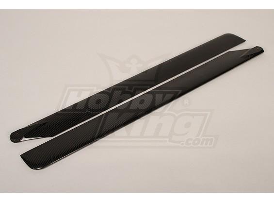 In fibra di carbonio Turnigy Main Blade 700 millimetri (1pair)
