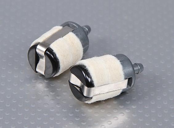 Feltro filtro carburante / Clunk per i modelli a gas (Large) (2pc)