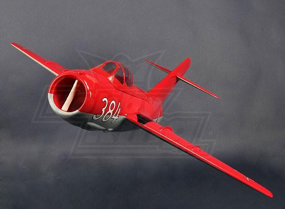 Mig-15 in fibra di vetro 90 millimetri EDF Jet, 1.127 millimetri (ARF)