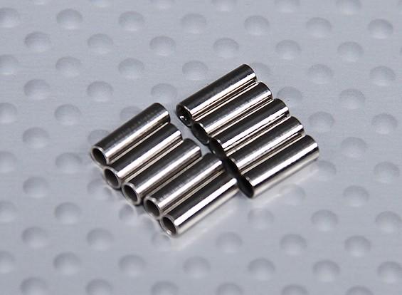 Rame rivestito di piegatura del tubo per Pull / tirare fili (10pc)