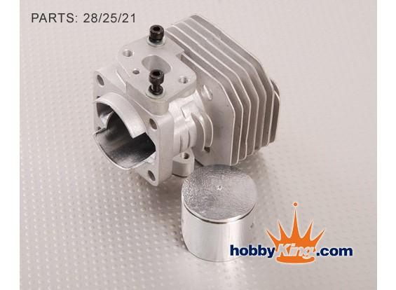 XY cilindri Head Set (26cc A-spec)