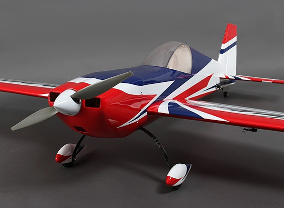 Extra 330 Balsa Plug and Fly 1.500 millimetri per 6S w / motore / ESC / MG Servo