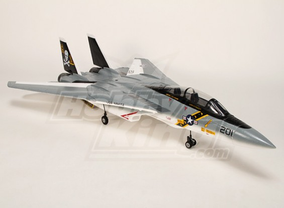 F-14 pieghevole ala Jet w Kit / doppia 60 millimetri EDF