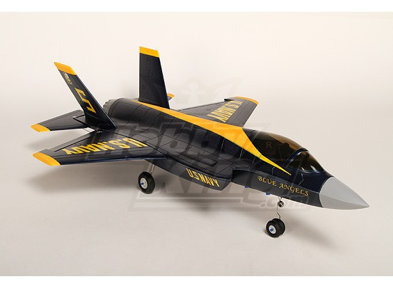 Angelo Fighter R / C canalizzati Fan Jet Plug-n-Fly