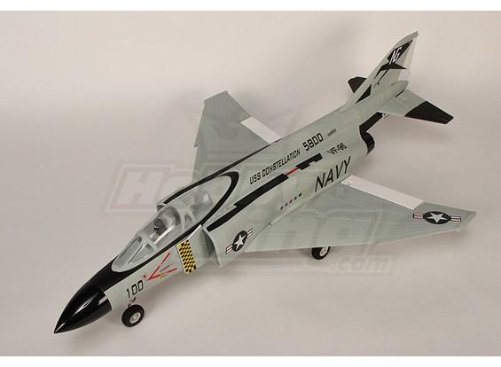 F4-J Fighter R / C 70 millimetri canalizzati Fan Jet Plug-n-Fly