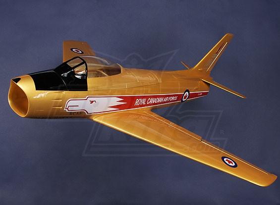 F86 Sabre RCAF 90 millimetri EDF Jet 1.038 millimetri in fibra di vetro (ARF)