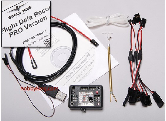USB Flight Data Recorder Kit PRO