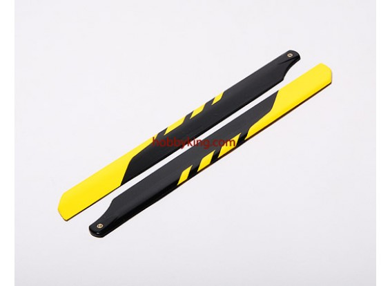 325 millimetri in fibra di vetro Main Blade (1pair)