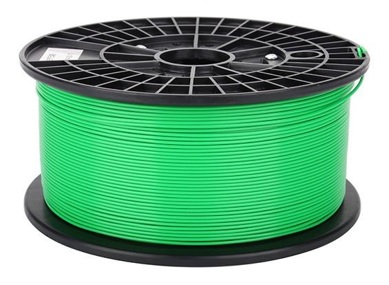 CoLiDo 3D filamento stampante 1,75 millimetri ABS 1KG spool (verde)