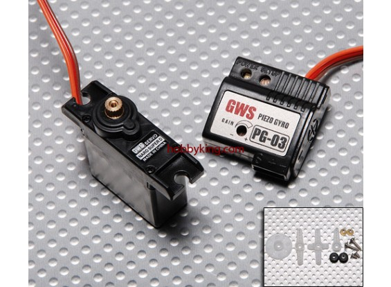 GWS Naro Super 19g Digital Servo / JR & Gyro