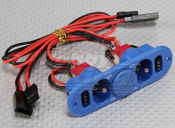 Heavy Duty Interruttore RX Doppia con tassa portuale e punto blu del carburante