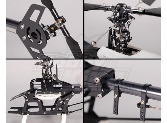 HK-450mt Barebone Kit CCPM 3D della lega (Align T-Rex Comp.)