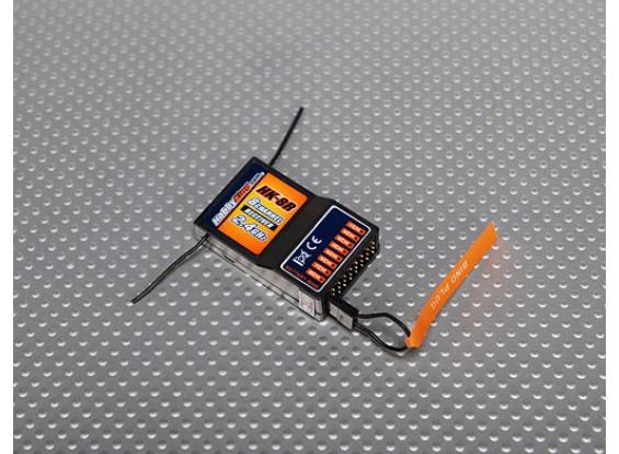 Hobby King HK-8R 2.4Ghz Ricevitore 8Ch