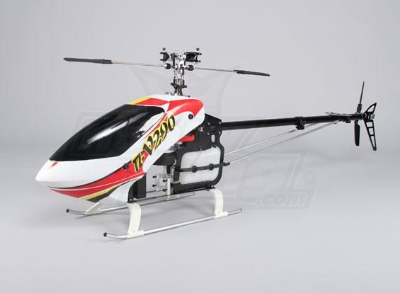 TZ-V2 .90 Dimensioni corredo dell'elicottero Nitro 3D