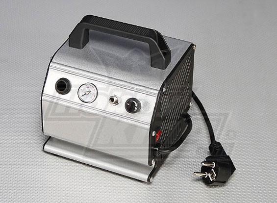 Compressore d'aria con pressione regolabile e manometro