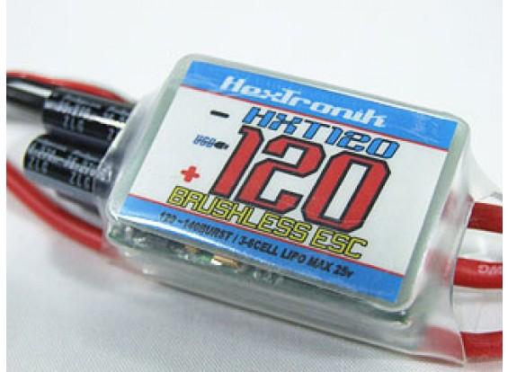 hexTronik PRO 120A BESC w / PC programmabilità