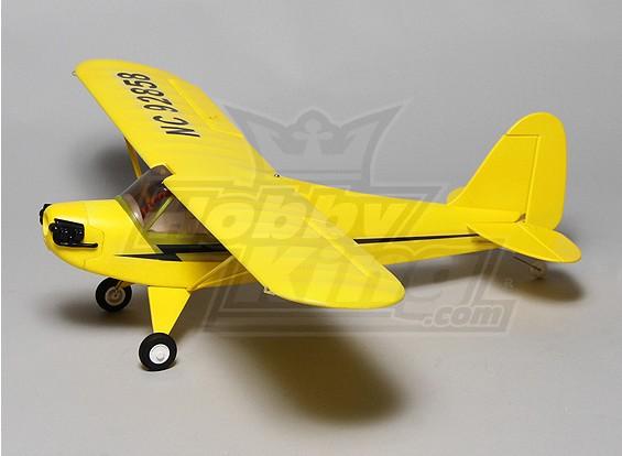 Dipartimento Funzione Mini J3 Cub con Servi (ARF) (giallo)