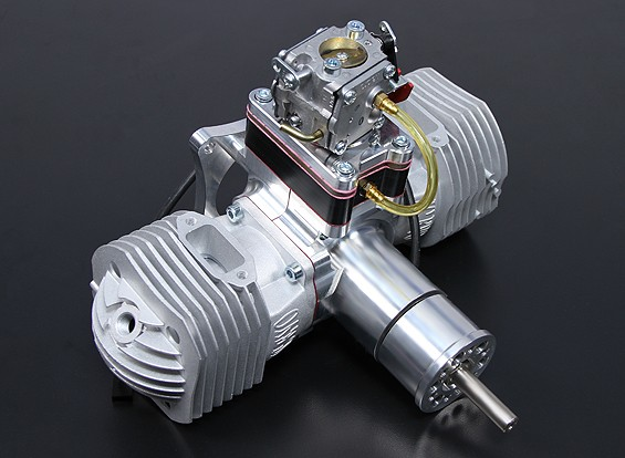 motore JC120 EVO gas w / CD-accensione 120cc / 12.5hp @ 8,000rpm