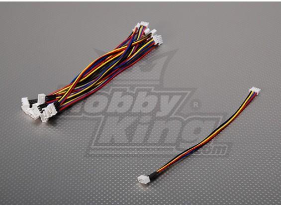 JST-XH 3S Estensione del filo 20 centimetri (10pcs / bag)