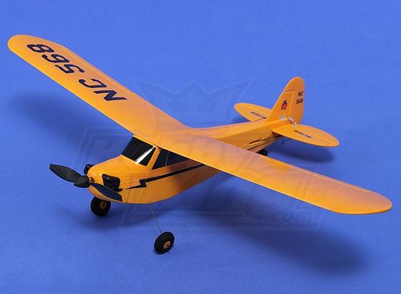 HobbyKing® ™ Micro J3 Cub 450 millimetri w / TX / Lipo / Prop (RTF)