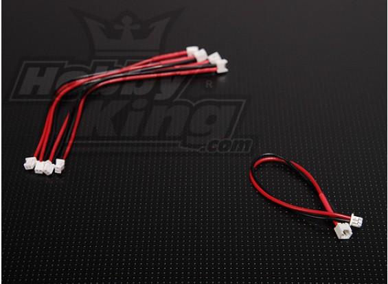 Mini Plug Extention ogni 10cm Micro Battery (5pcs / bag)