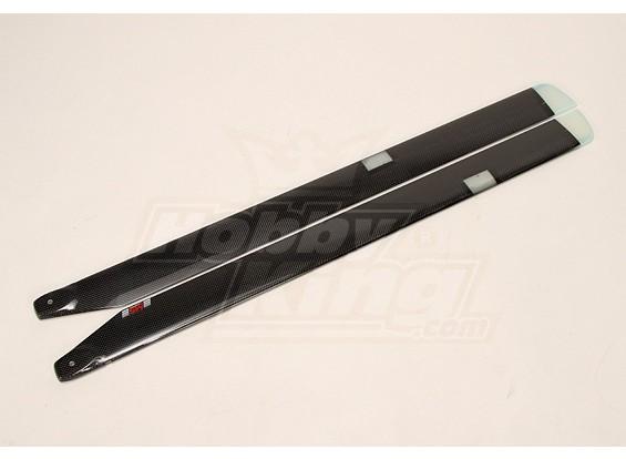 800 millimetri MS Composit 3D Futura Night Main Blades