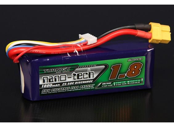 Turnigy nano-tech 1800mah 4S 25 ~ 50C Lipo Confezione