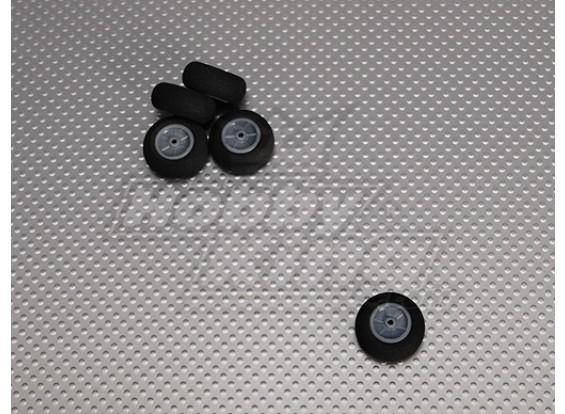 Gomma piuma della luce della rotella diametro: 25, Larghezza: 12mm (5pcs / bag)