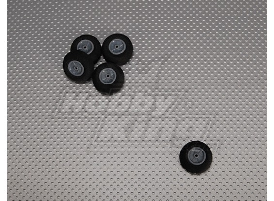 Gomma piuma della luce della rotella Diametro: 28, Larghezza: 12mm (5pcs / bag)