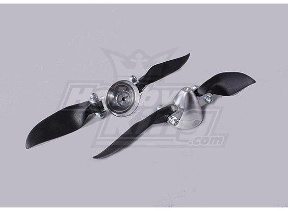 Folding Assembly Propeller 6x6 (Lega / Hub Spinner) (2pc / bag)