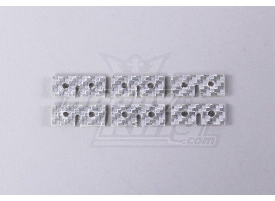 Fibra di vetro Servo piastra di fissaggio (uso universale) (6pc / bag)
