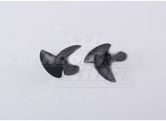 3-Blade barche Eliche 40x57mm (2pcs / bag)