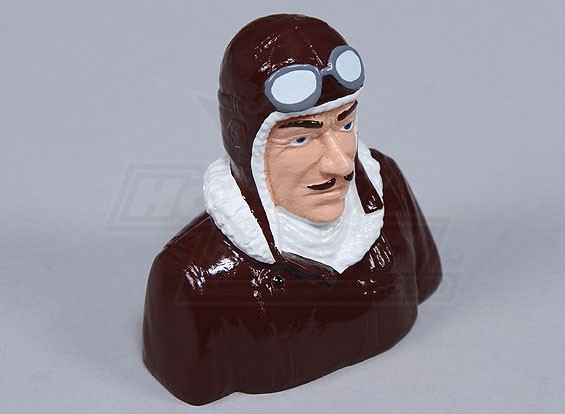 Resina Dick Dastardly Pilot (H80 x W85 x D52mm)