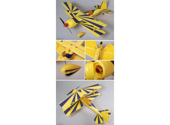 Pitts S12 Aerobatic Biplano EPO pronto a volare